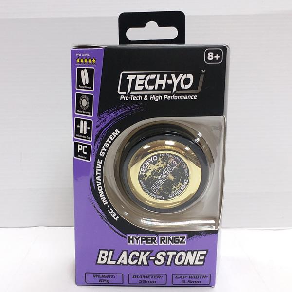 Hyper Ringz Black-Stone Yo Yo