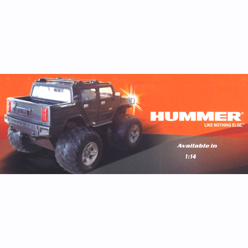 Hummer Like Nothing Else