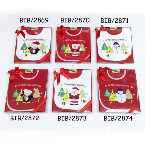 Baby bib - Christmas