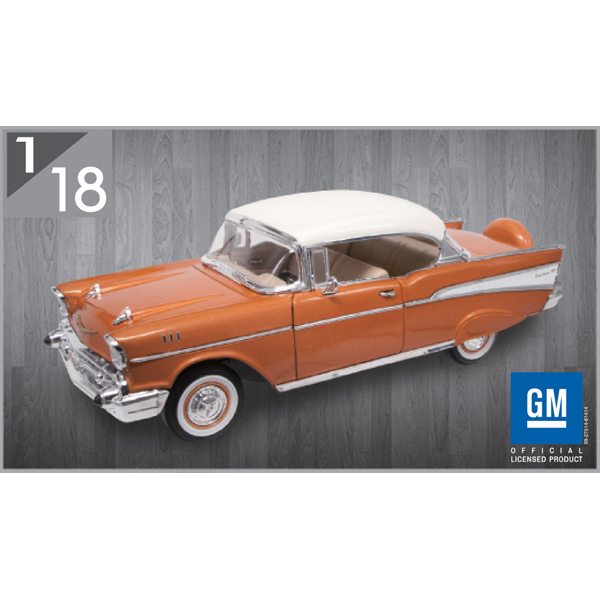 1957 Chevrolet Bel Air Hardtop 1:18