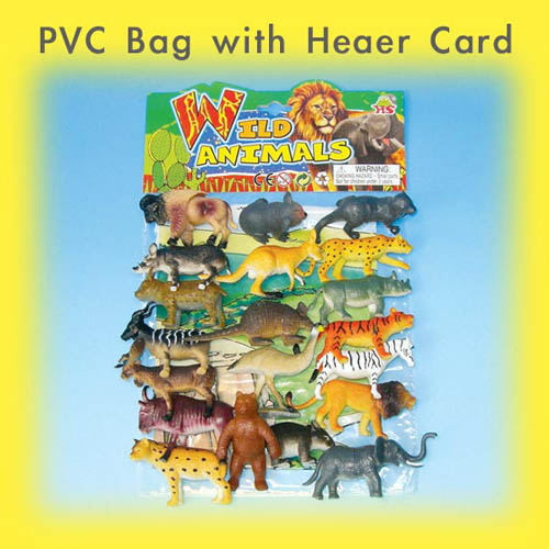 PVC Bags with 9'' Header Card