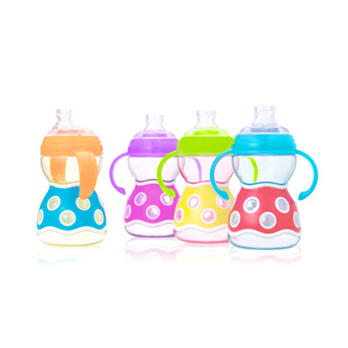 JJ's Bubble Cup with Spout & Handle (260ml / 8oz)