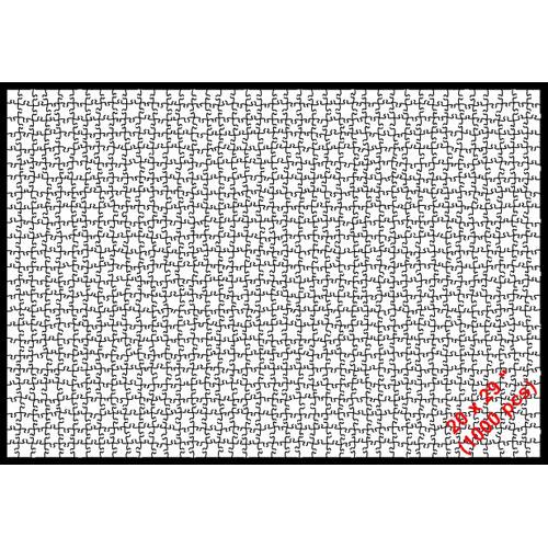 Puzzle 20 x 29 (1000p)