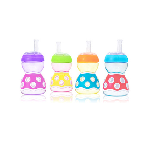 JJ's Bubble Cup with Sipper and Straw (260ml / 8oz)