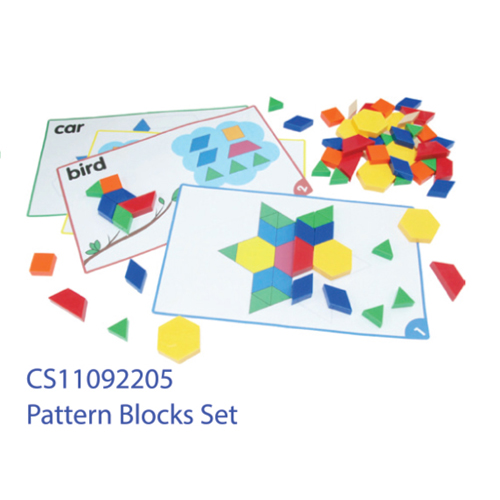 Pattern Blocks Set