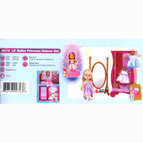 Lil' Ballet Princess Deluxe Set