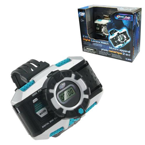 2 in 1 Digital Camera Watch