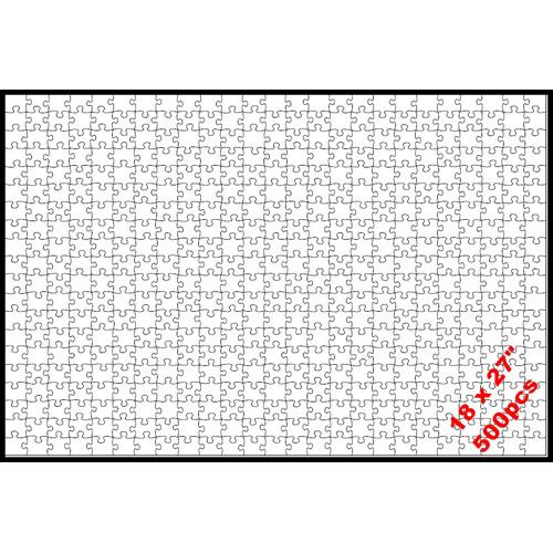 Puzzle 18 x 27 (500p)
