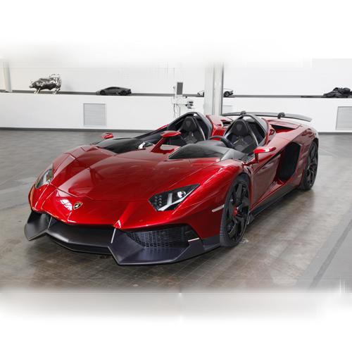 Ride-On Car (Lamborghini Aventador - Red)