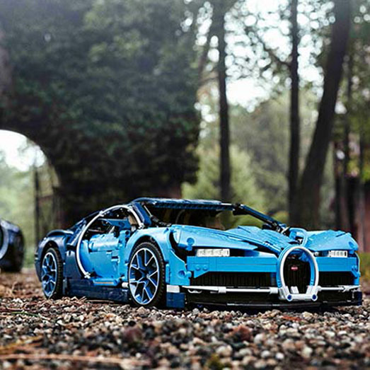 Revealed: The New Lego® Technic™ Bugatti Chiron - Where Art, Engineering and Bricks Combine