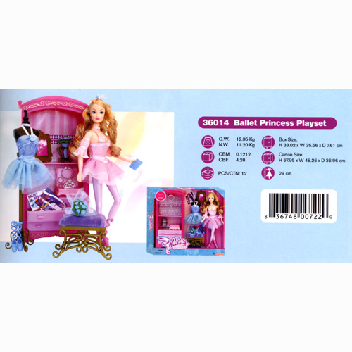 Ballet Princess Playset