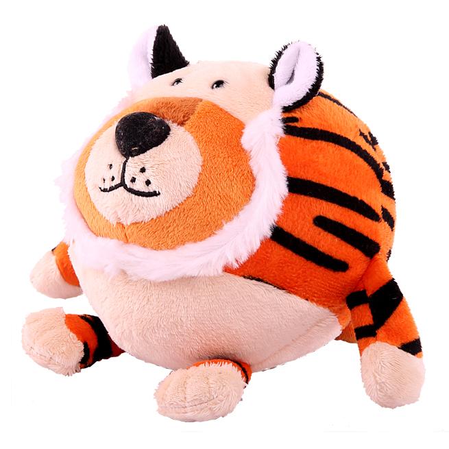 Plush Tiger in sphere shape