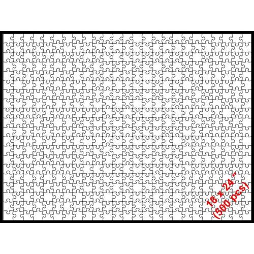 Puzzle 18 x 24 (500p)