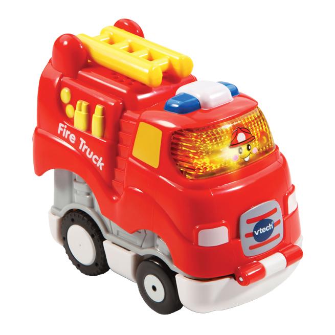 Go! Go! Smart Wheels Press & Race Fire Truck
