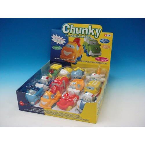 Chunky - The Wheelie Buddies (Display Box)
