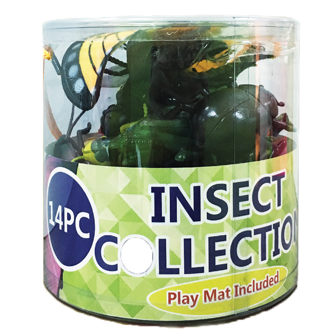 14 PC Insect Collection