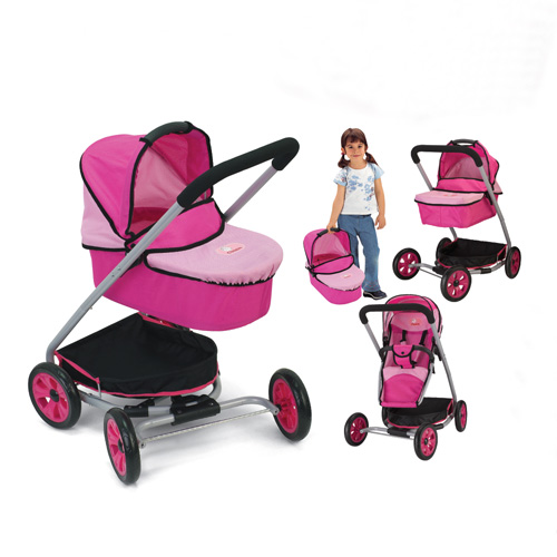 20mm pipe 3 in 1 stroller with carry cot