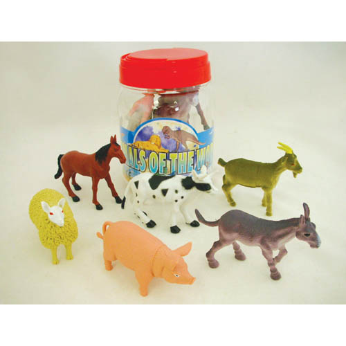 Small Bucket Farm Animals