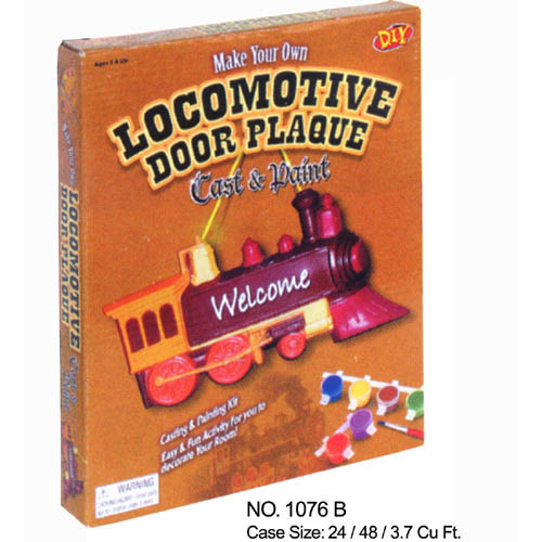 Locomotive Door Plaque
