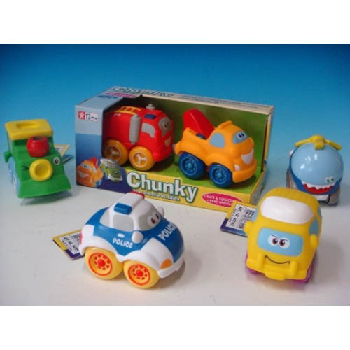 Chunky - The Wheelie Buddies (Twins Set)