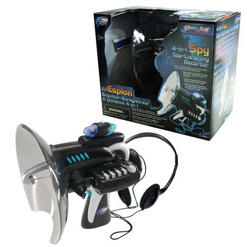 4-in-1 Spy Listening Recorder