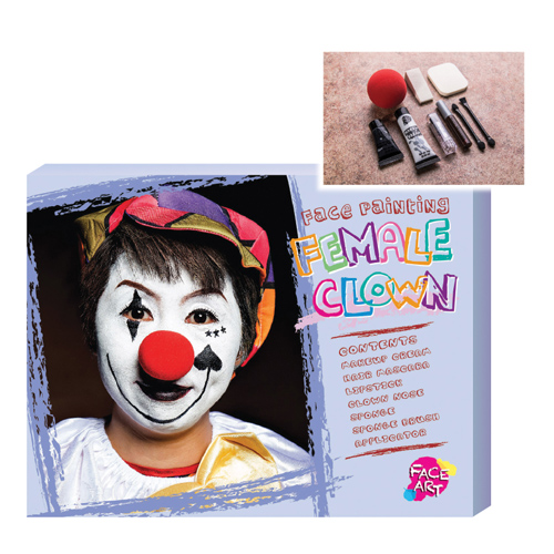 Face Painting - Female Clown