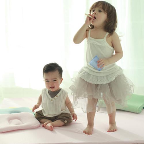 Dual Folding Mat (Baby Pink)