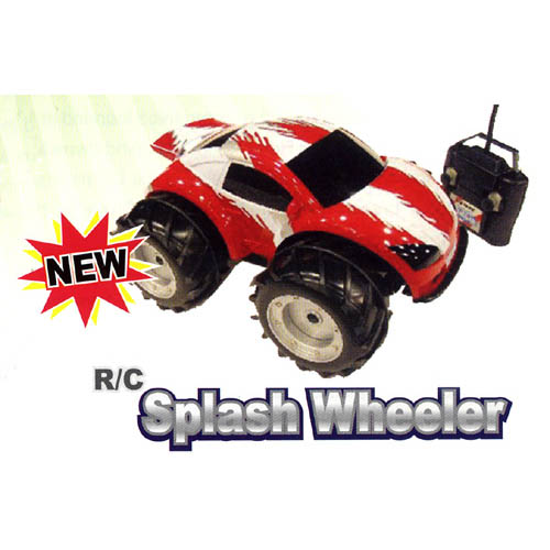 R/C Splash Wheeler