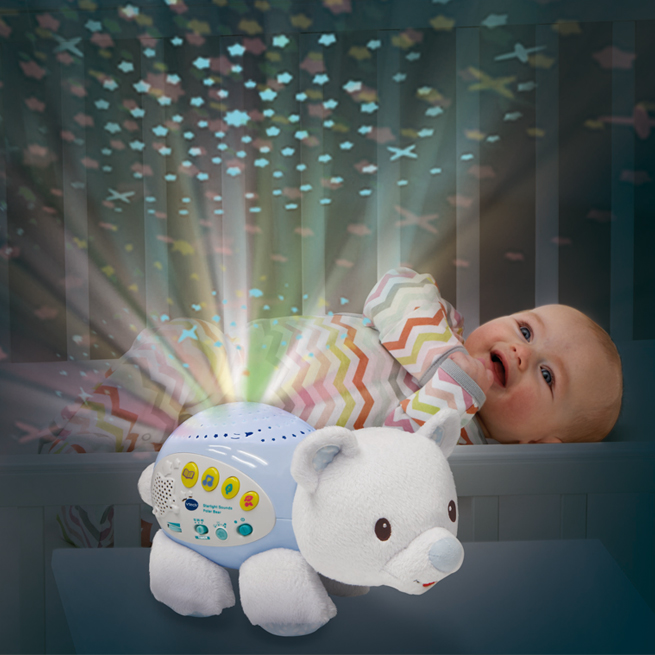 Lil' Critters Soothing Starlight Polar Bear