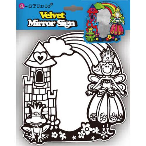 Velvet Mirror Sign