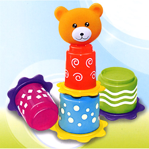 Stacking Cup with Bear