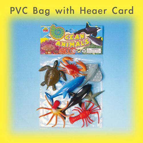 PVC Bag with 7'' Header Card