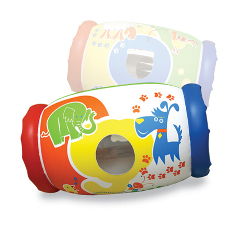 Inflatable Baby Roller / Musical Baby Roller