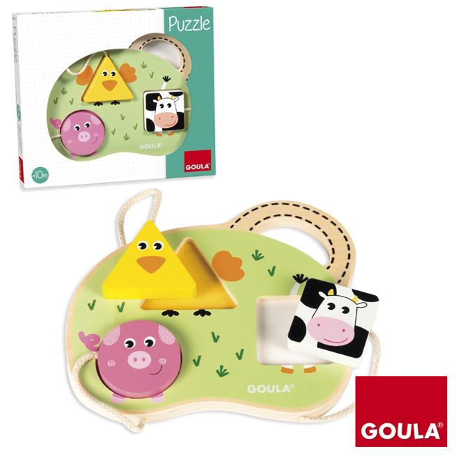 3 Farm Animals Puzzle