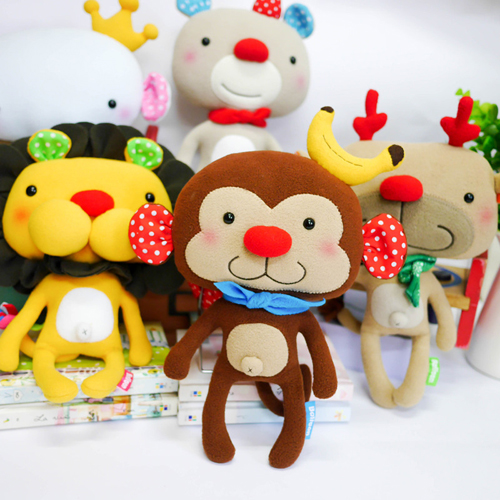 doll (L), moneky and all styles