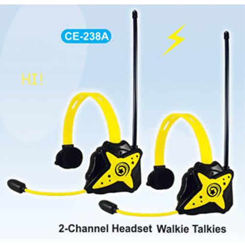 2-Channel Walkie Talkies