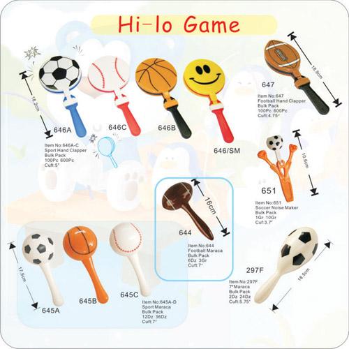 Hi-lo Game