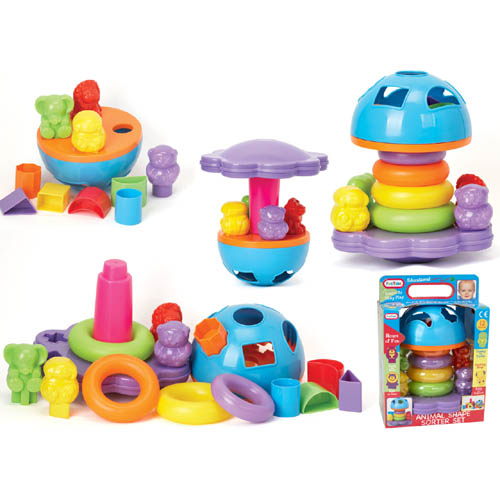 Animal Shape Sorter Set