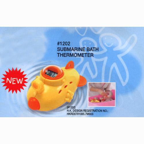 Submarine Bath Thermometer