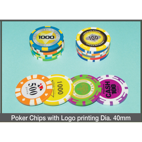Poker Chips with Logo Printing Dia. 40mm