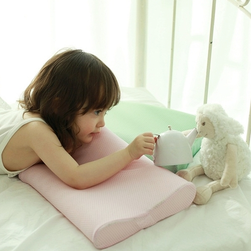 Kid Dual Pillow (Mint Green)