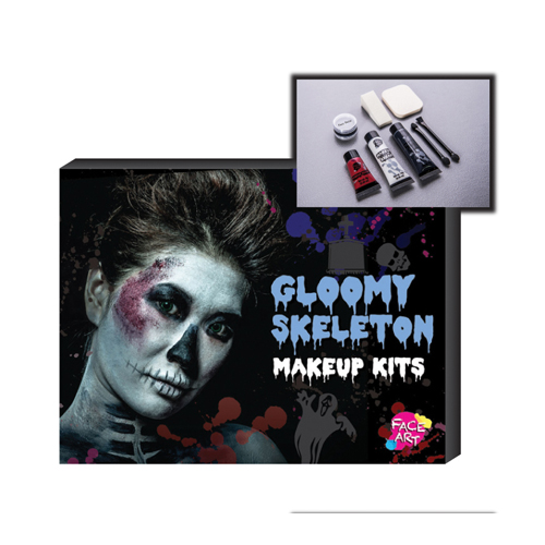 Makeup Kit - Gloomy Skeleton