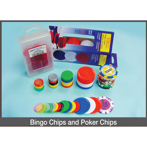 Bingo Chips and Poker Chips