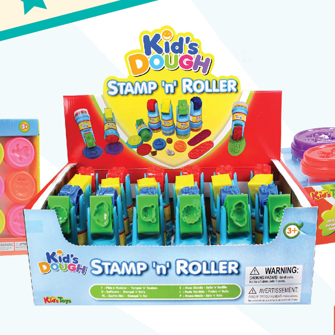 Kid's Dough - Stamp 'n' Roller
