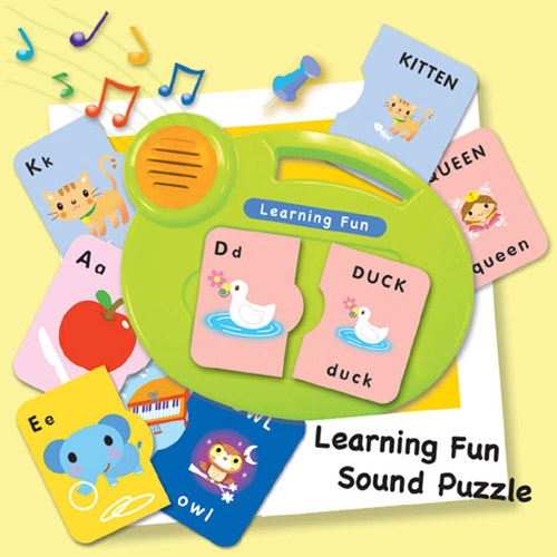 Learning Fun Sound Puzzle