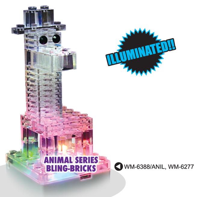 Animal Series Bling-bricks