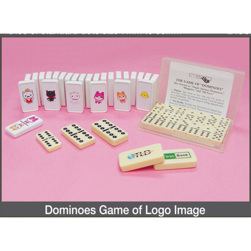 Dominoes Game of Logo Image