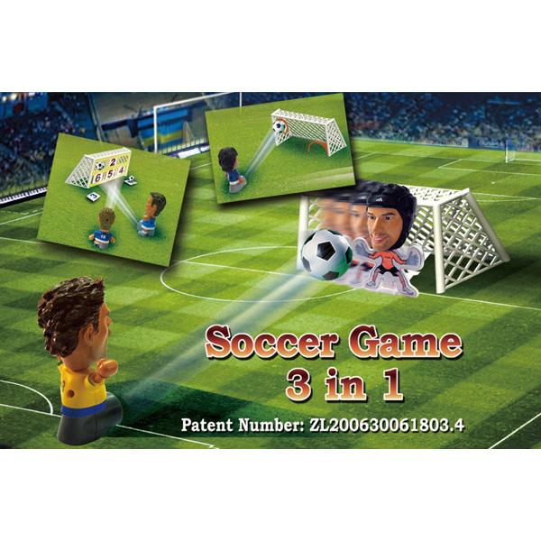 Soccer Game 3 in 1