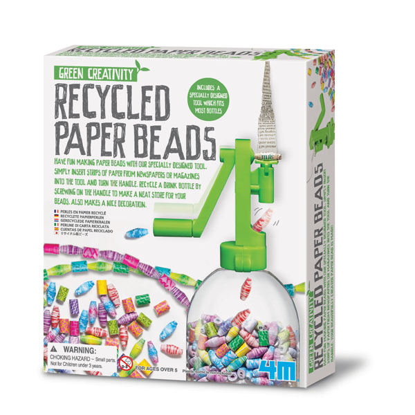 Green Creativity ~ Recycled Paper Beads