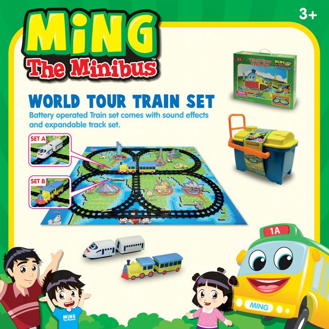 World Tour Train Set